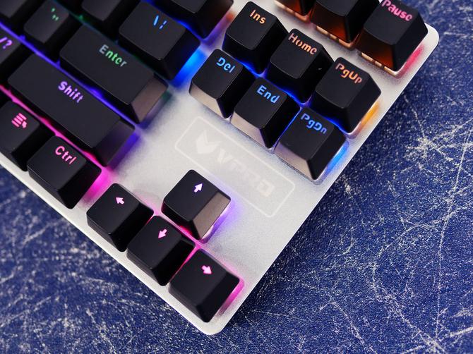 雷柏V500S合金版机械键盘评测