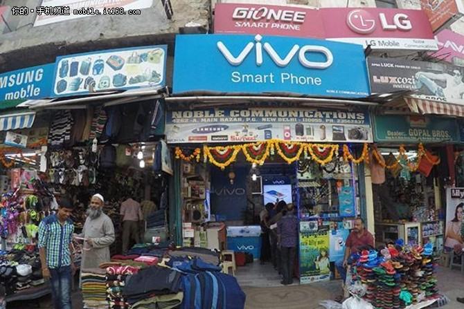 惊呆了!vivo印度市场占有率超越小米