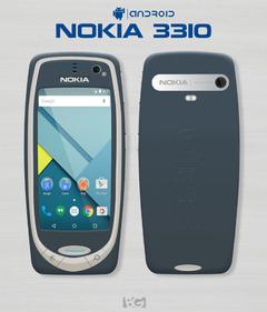 复刻情怀 安卓版诺基亚3310曝光
