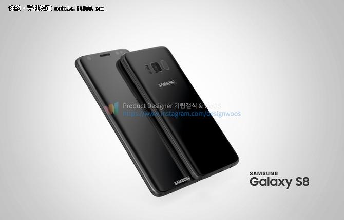 三星Galaxy S8新配色与细节曝光