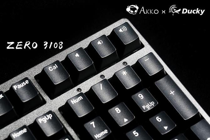Akko X Ducky发布新款金砂黑机械键盘