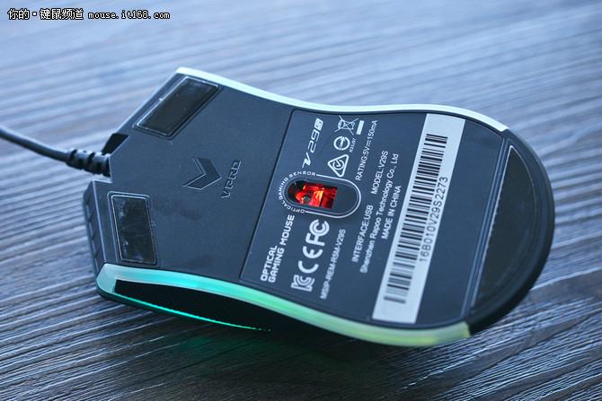 光学引擎新升级 雷柏V29s游戏鼠标评测