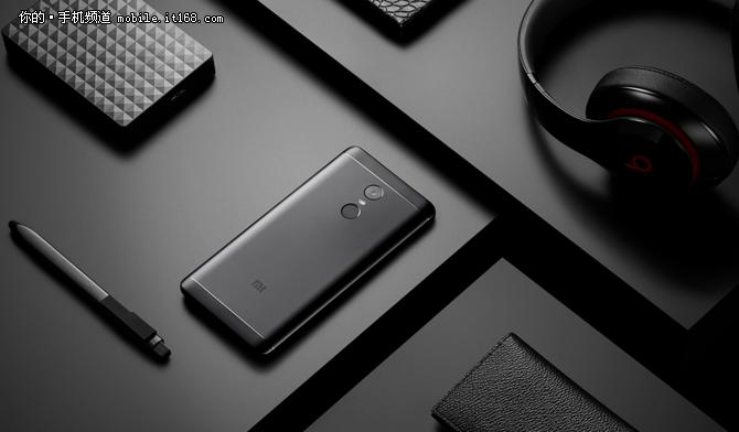 红米Note 4X磨砂黑今日全网首卖