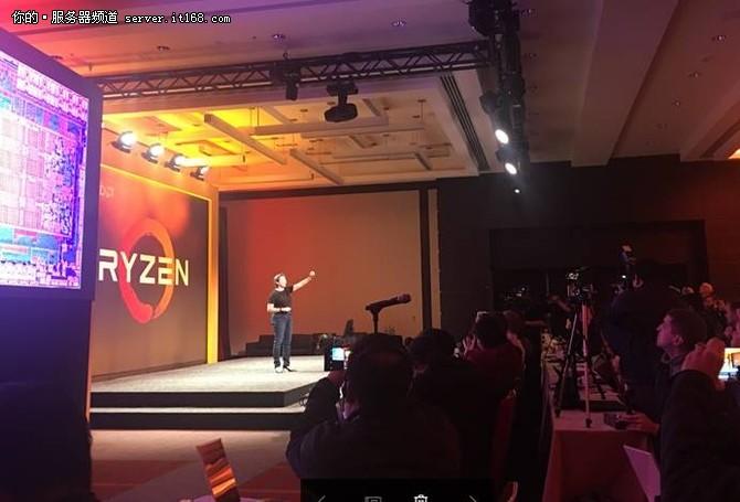 四年磨一剑 锐龙 AMD Ryzen处理器发布