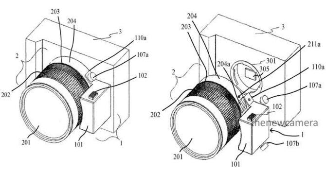 佳能电动变焦适配器专利 使用所有镜头