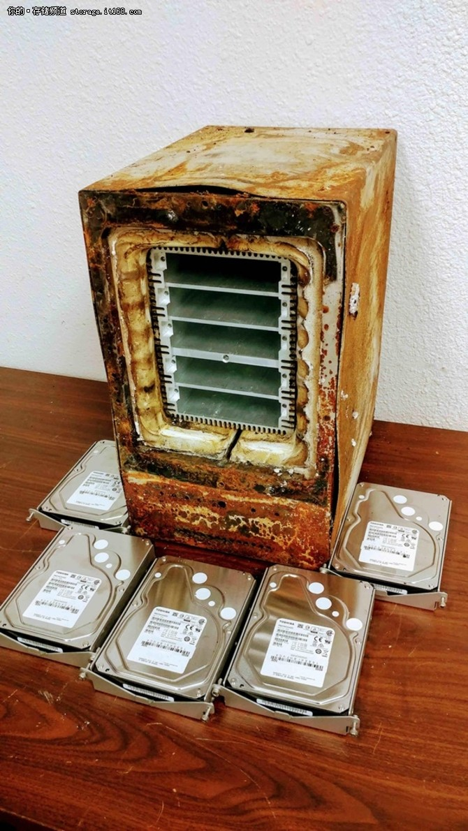 ioSafe发布防火防水存储服务器Server5