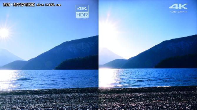 风景图色彩亮度调节