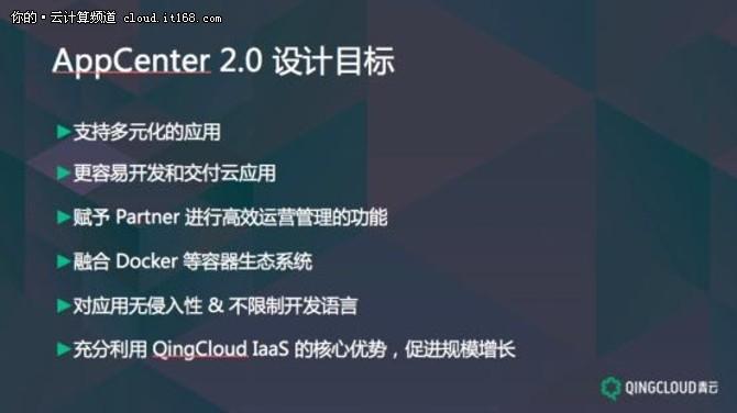 五个层面深度解析青云AppCenter2.0平台
