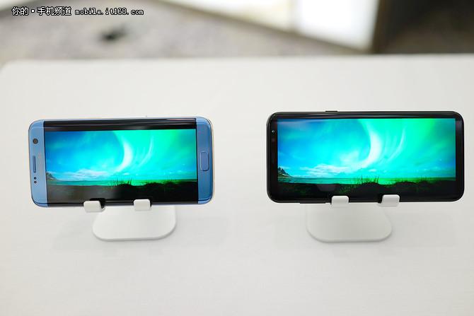 无限屏 三星S8S8+发布