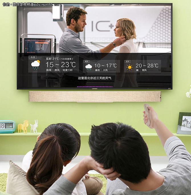 联想的新智能时代 会聊天的电视