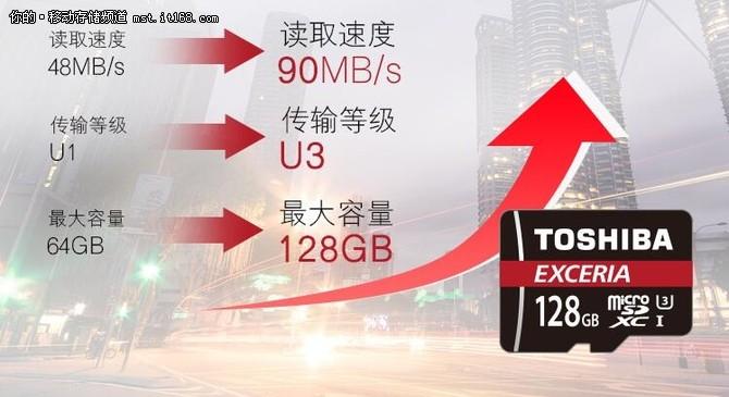 高速读取写入 东芝M302 MicroSD卡 热销