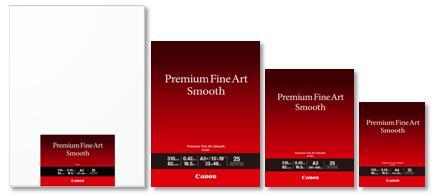 佳能推出高端艺术输出的专业平滑艺术纸