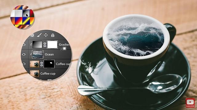Adobe官方教学视频,一分钟用PS打造梦幻的合成作品