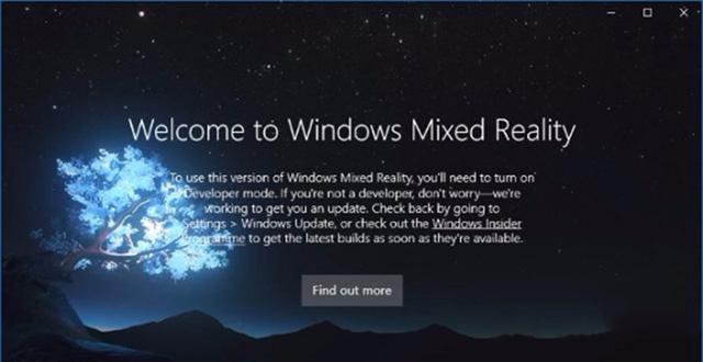 微软MR功能4月11日正式登陆Win10