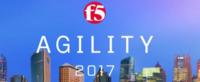 2017 F5 Agility高峰论坛在5月召开
