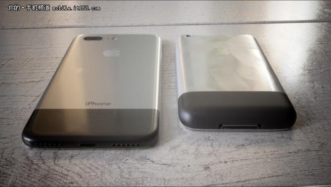 回归初代设计 iPhone8概念图惊艳曝光