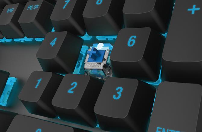 买赛睿M650机械键盘 送极限竞速资料片