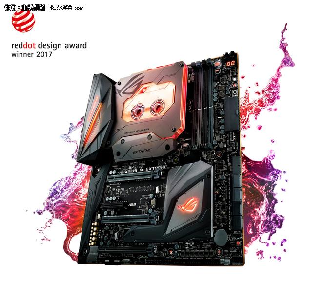 华硕ROG M9EM9A获2017年红点设计大奖