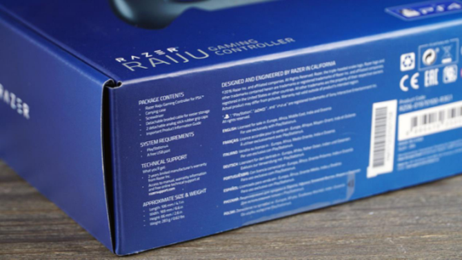 超越大法 雷蛇RAIJU精英版PS4手柄评测