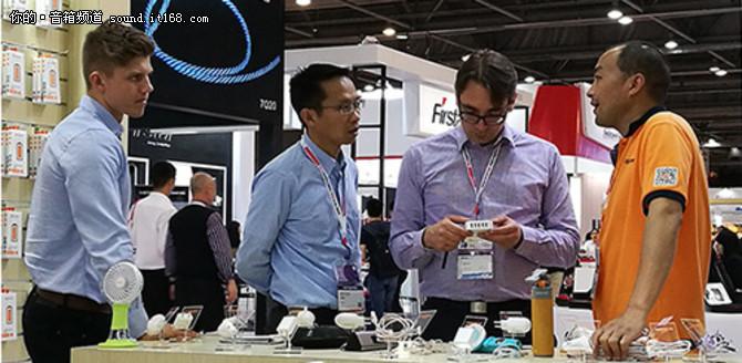 香港环球资源春季电子展 沃品全程参展