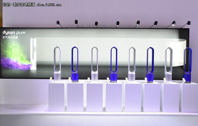 戴森新款空气净化风扇发布 更高效智能