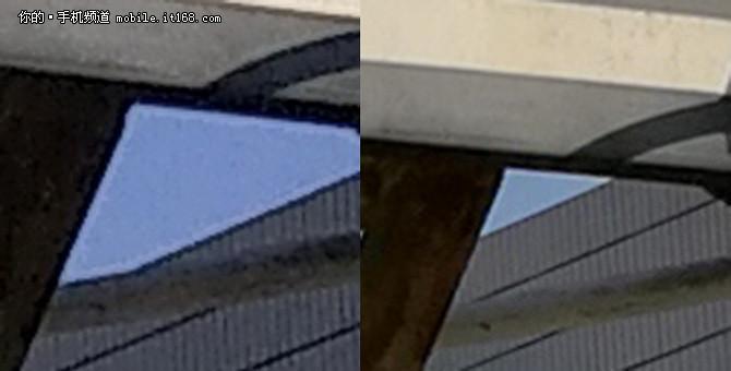 拍照对比:日光夜景双摄