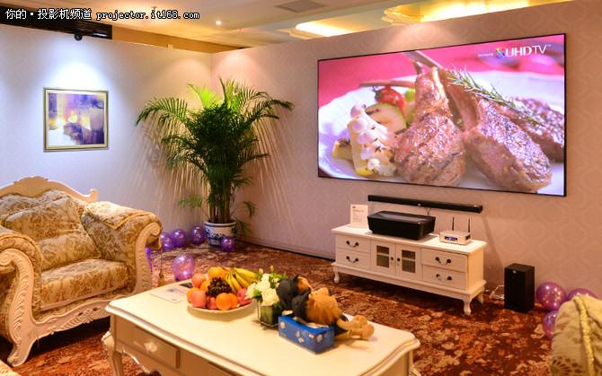 明基新品激光超投电视新晋客厅人气单品