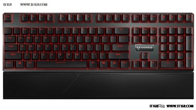 旗舰配置 雷柏V810游戏机械键盘售499元