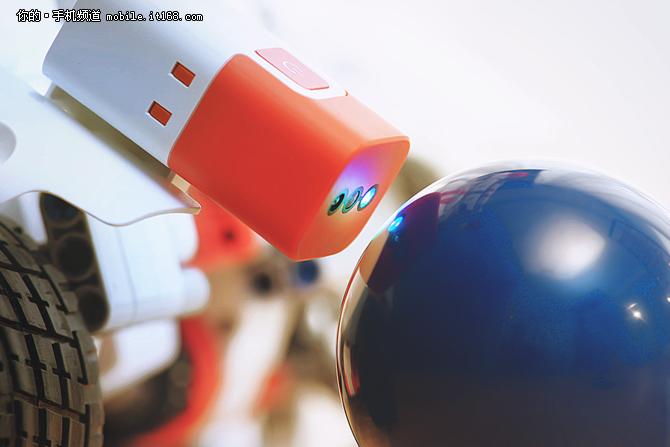 无线连接 米兔机器人颜色传感器开售
