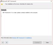 微软.NET Framework 4.7离线和在线安装