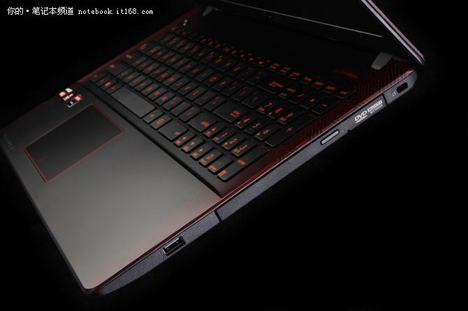 华硕飞行堡垒VX50IU AMD的游戏本代表作