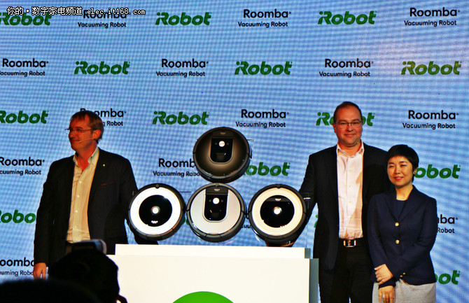 智能互联 iRobot推出新品扫地机器人