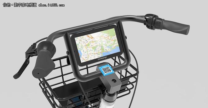 小蓝单车增加触控屏 开启全新商业模式