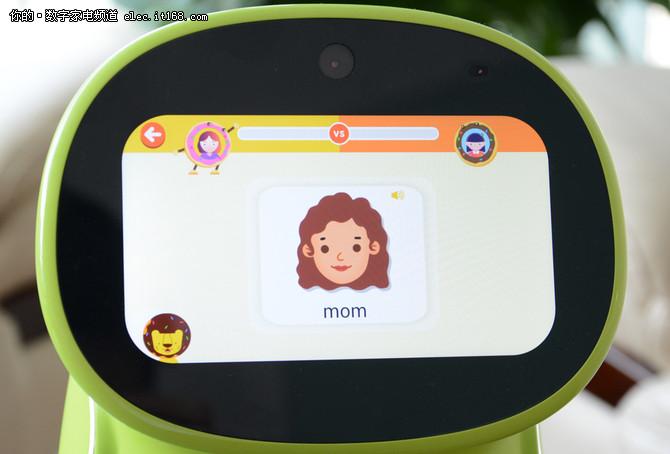 AI+儿童智能机器人 布丁豆豆体验评测