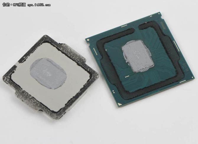 i9导热材料并非钎焊 而是祖传硅脂