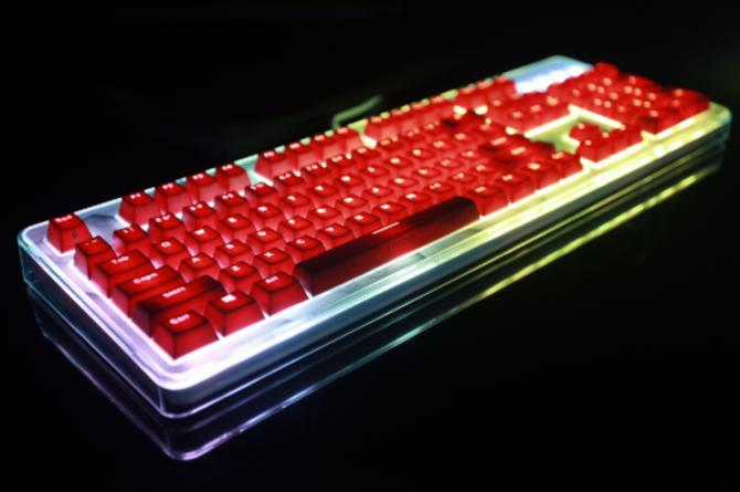 键盘面上玩乐高 i-rocks静电容
