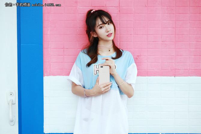 OPPO R11甜美图赏:今夏妹子最爱手机