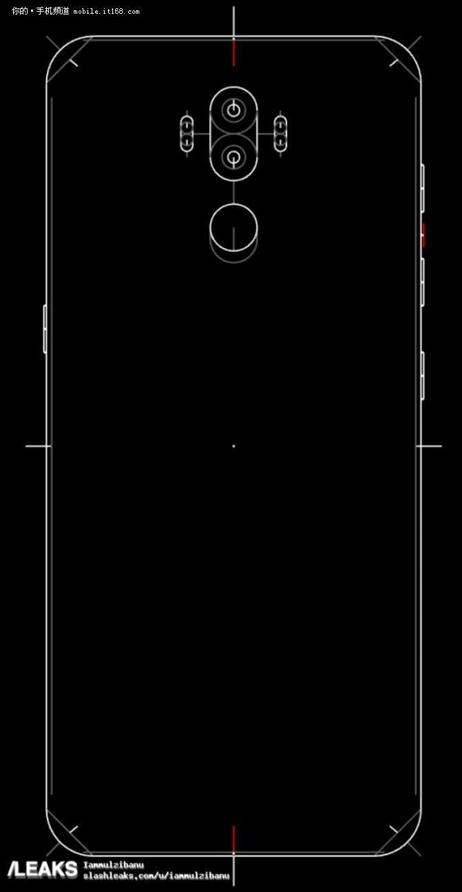 无缘屏下指纹 三星Note8最新渲染图曝光