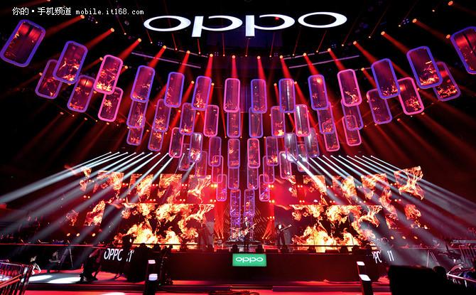 卫视全球直播 OPPO R1来了多少明星