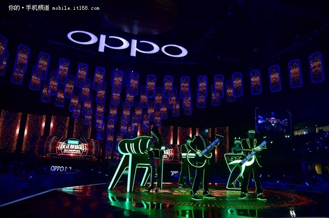 OPPO以全明星盛典开创新玩法