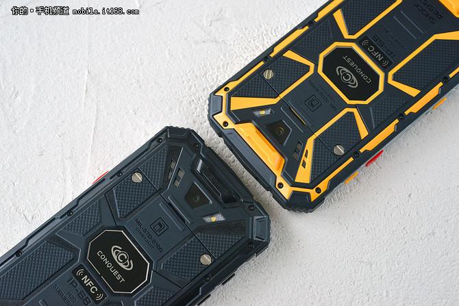 不怕汽车碾压 这款IP68三防手机中国造