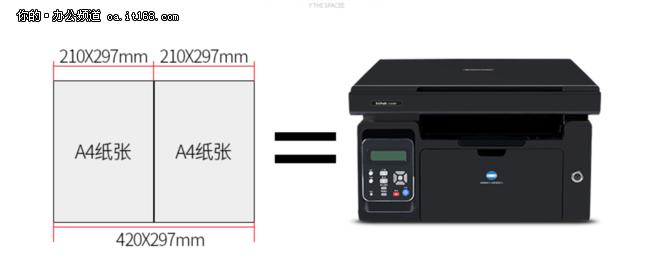 柯尼卡美能达 2280MF黑白A4一体机