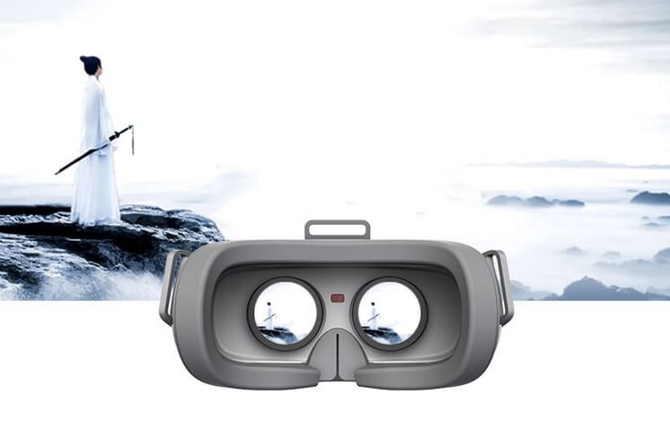 VR行业风向标 嗨镜大画头戴电视体验