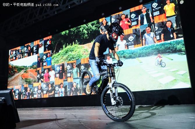 虬龙科技品牌发布 中国制造电摩