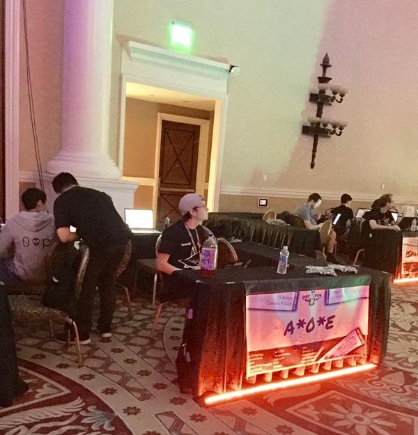 腾讯战队获得黑客世界杯季军