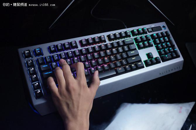 还有这种操作?Alienware全新键鼠体验