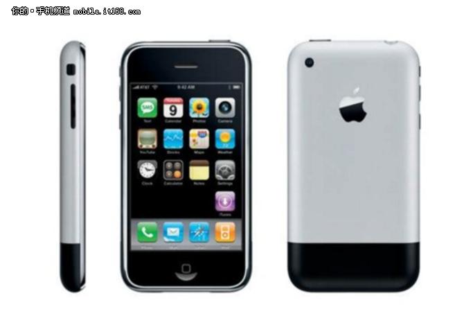 细数十年间历代iPhone的变化