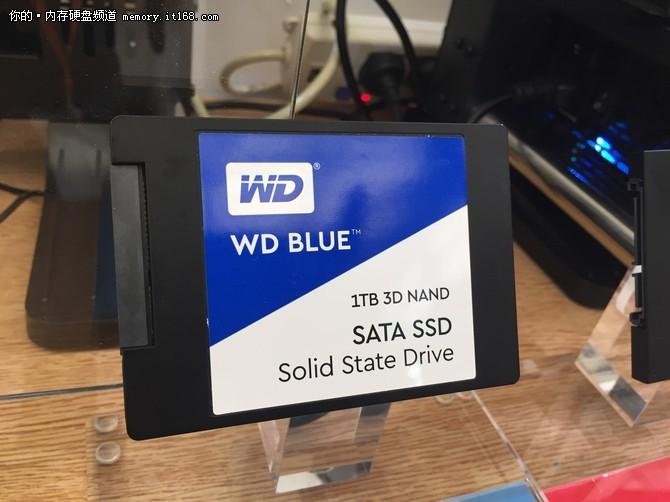 ChinaJoy2017:西数大容量SSD集体亮相