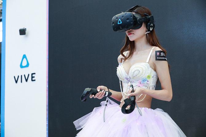 引领VR推动普及  HTC VIVE闪耀CJ 2017
