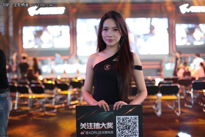 ChinaJoy2017:技嘉AORUS展台人气爆棚